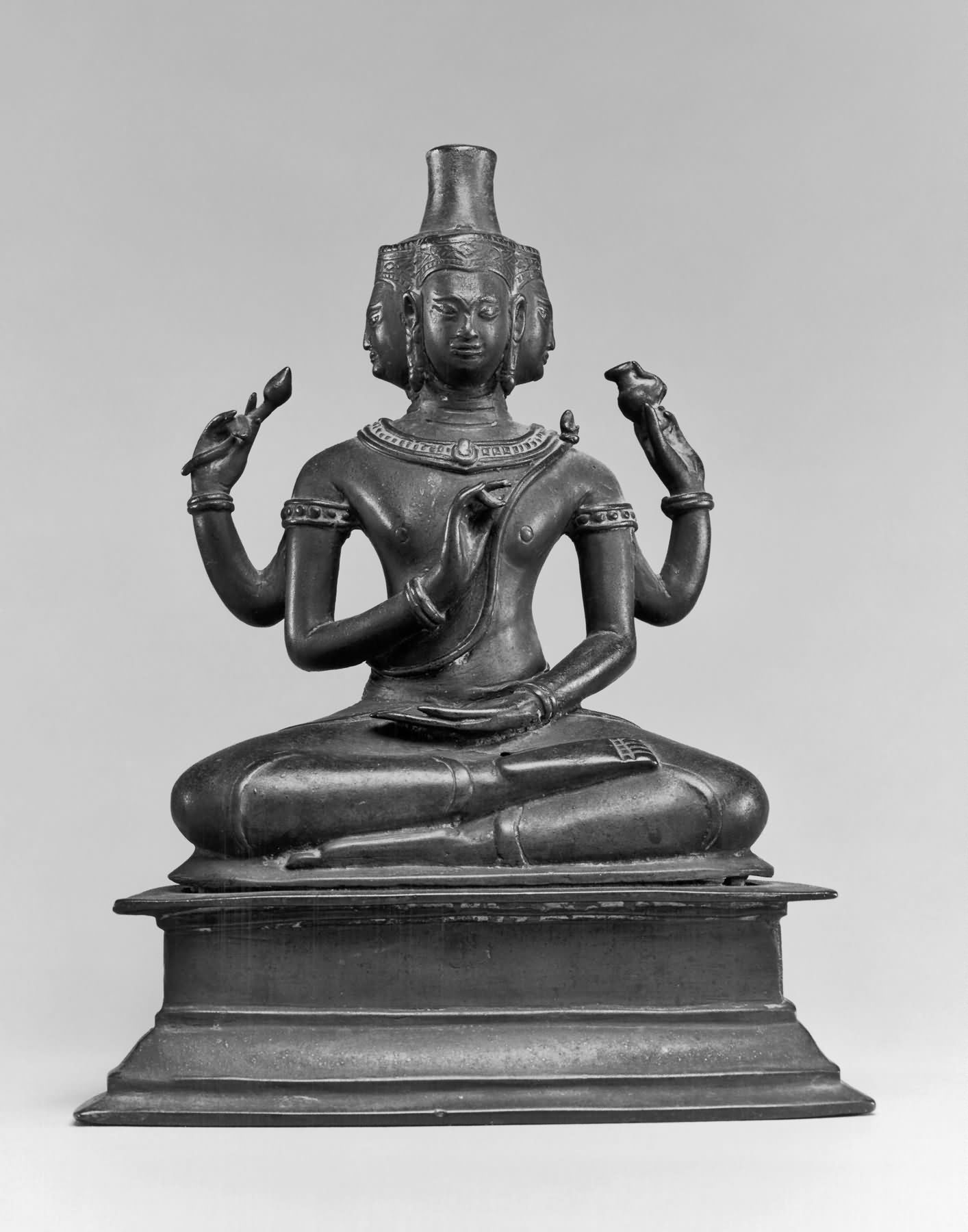Seated Brahma At Walters Art Museum, Thailand