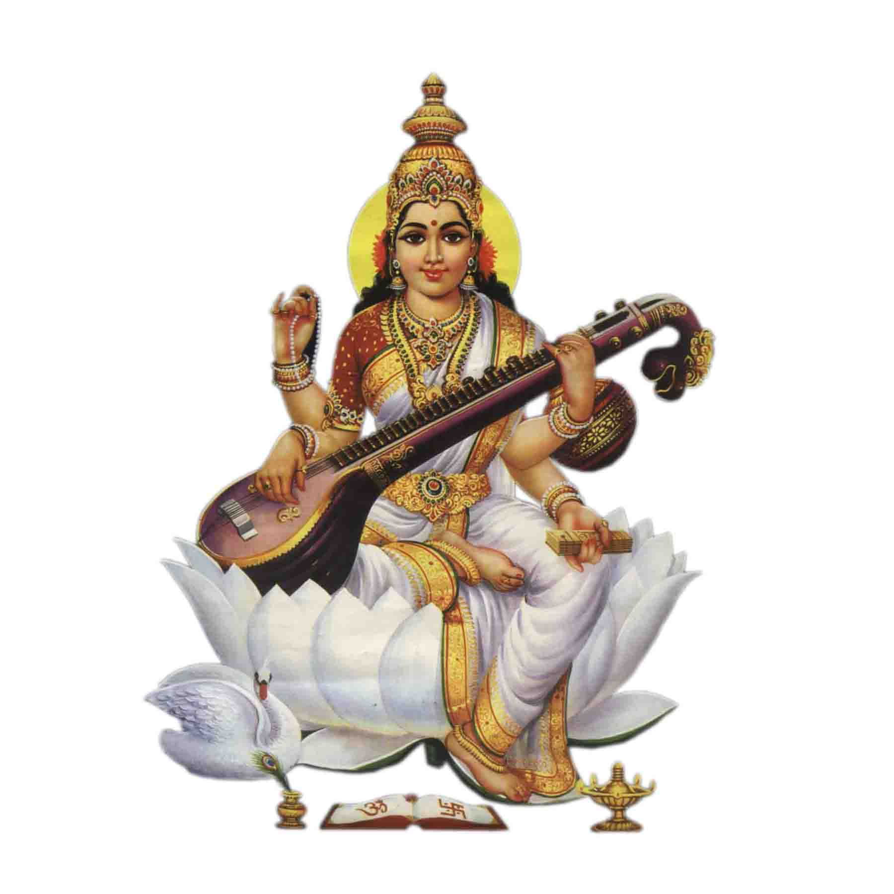 माँ सरस्वती – Maa Saraswati Is The Hindu Goddess Of Knowledge