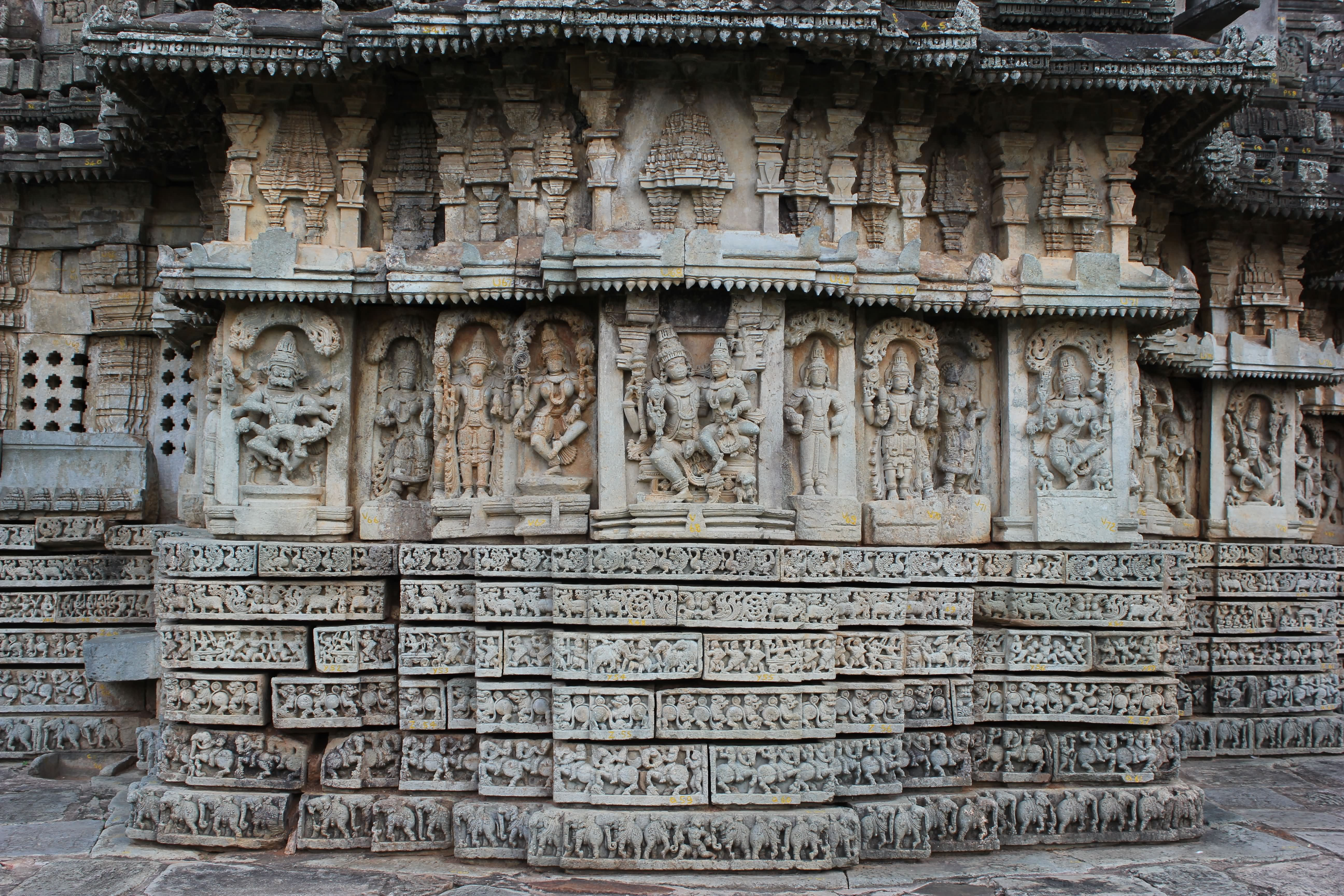 Temple Wall Panels : Basaralu temple photos articles findmessages