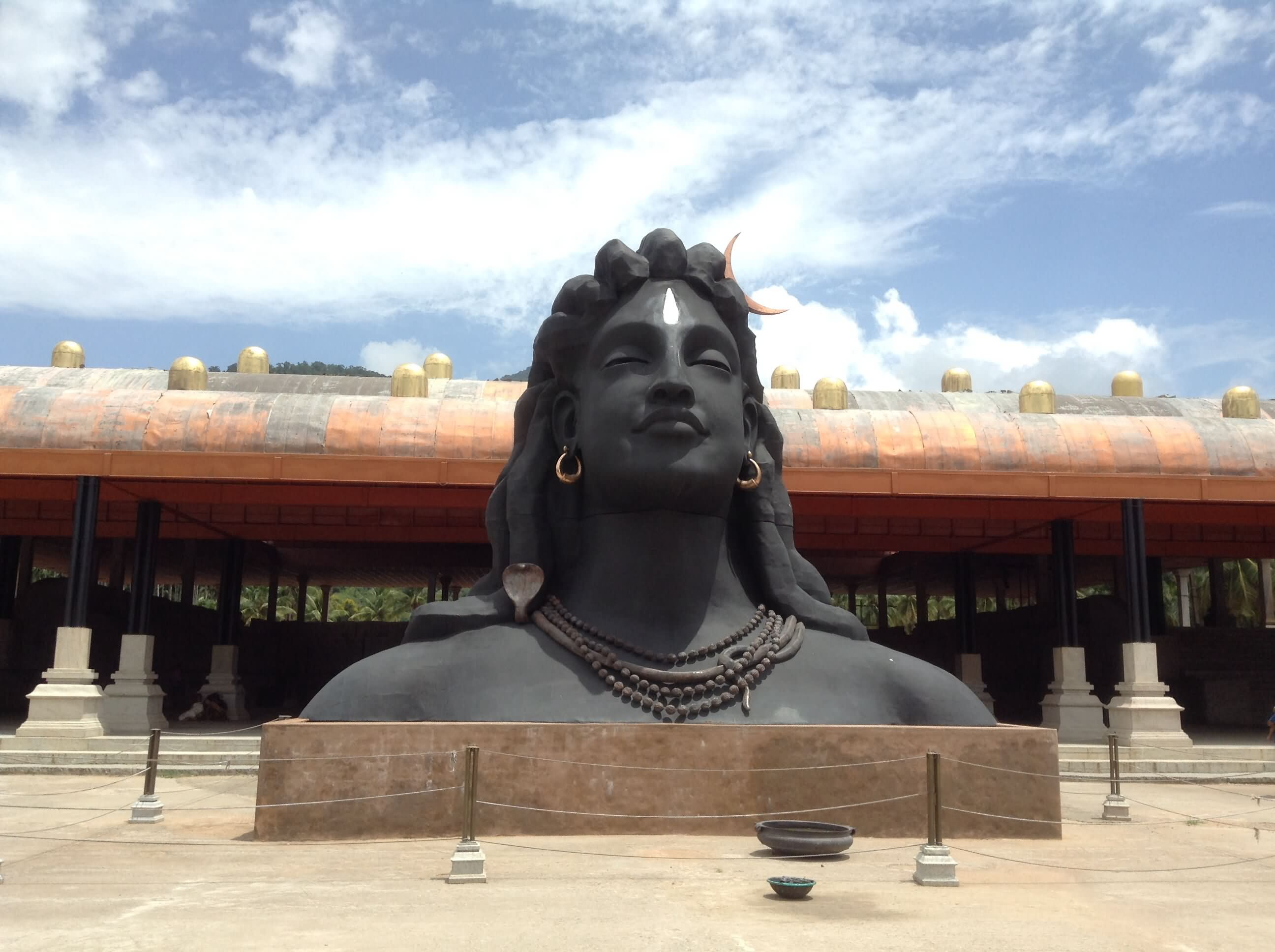 The Statue Of Lord Shiva In Dhyanalinga Yogic Temple In Coimbatore, Tamil Nadu