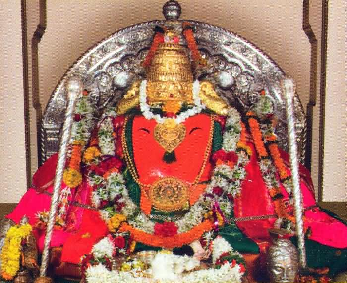 Pratyangira Devi - Goddess With A Lioness's Face And A ...