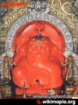 Ganesha Idol Of Mayureshwar Temple In Morgaon
