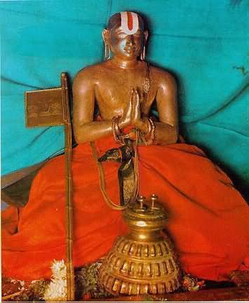 Idol Of Shri Ramanuja In Shri Ramanuja Swami In Temple