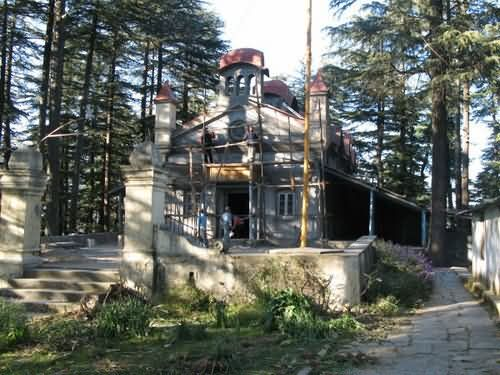 Renovation Of Chail Gurudwara At Himachal Pradesh, India