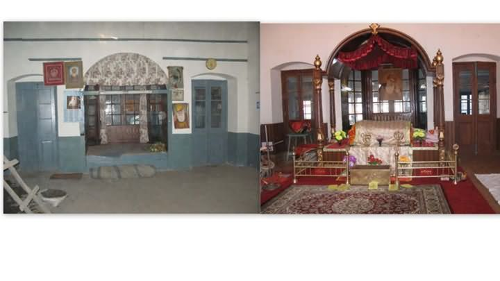 Chail Gurudwara Before And After Renovation At Himachal Pradesh, India