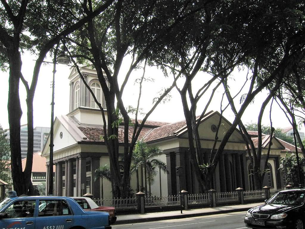 Cathedral Of The Good Shepherd At Singapore