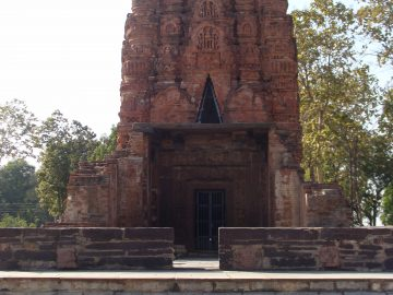 Front View Of Laxman's Temple, Sirpur, Chhattisgarh