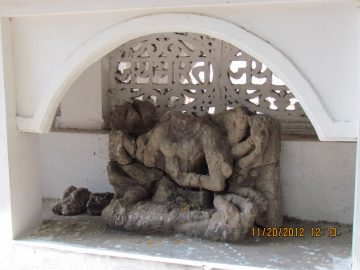 Sculpture At Gandheswar Mahadev Temple, Chhattisgarh