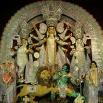 Idol Of Durga In Kolkata