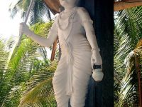 White Statue Of Lord Vaman