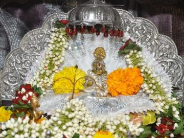 Childhood Idol Of Lord Rama In White Clothes