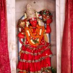 Hindu Idol Hanumana Also Known As Kesarinandan