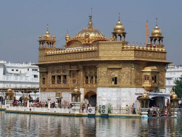 Lovely Harmandir Sahib (Golden Temple) Of Amritsar