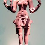 Hindu Famous Goddess Kali In National Museum Of India